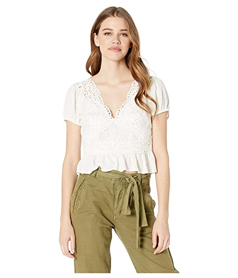 1f0fe4f7627 Free People Sweet Roses Blouse at Zappos.com
