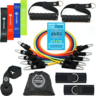 Tribe Resistance Bands Set, Exercise Bands for Working...