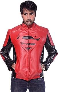 Superman Smallville Clark Kent Man of Steel Men Leather Jacket