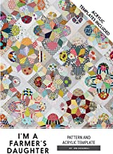 I'm a Farmers Daughter Jen Kingwell Designs Quilt Pattern and Acrylic Templates