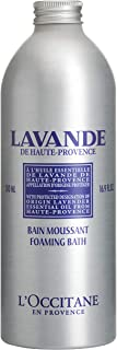 L'Occitane Relaxing & Foaming Lavender Bubble Bath, Standard, 16.9 Fl Oz