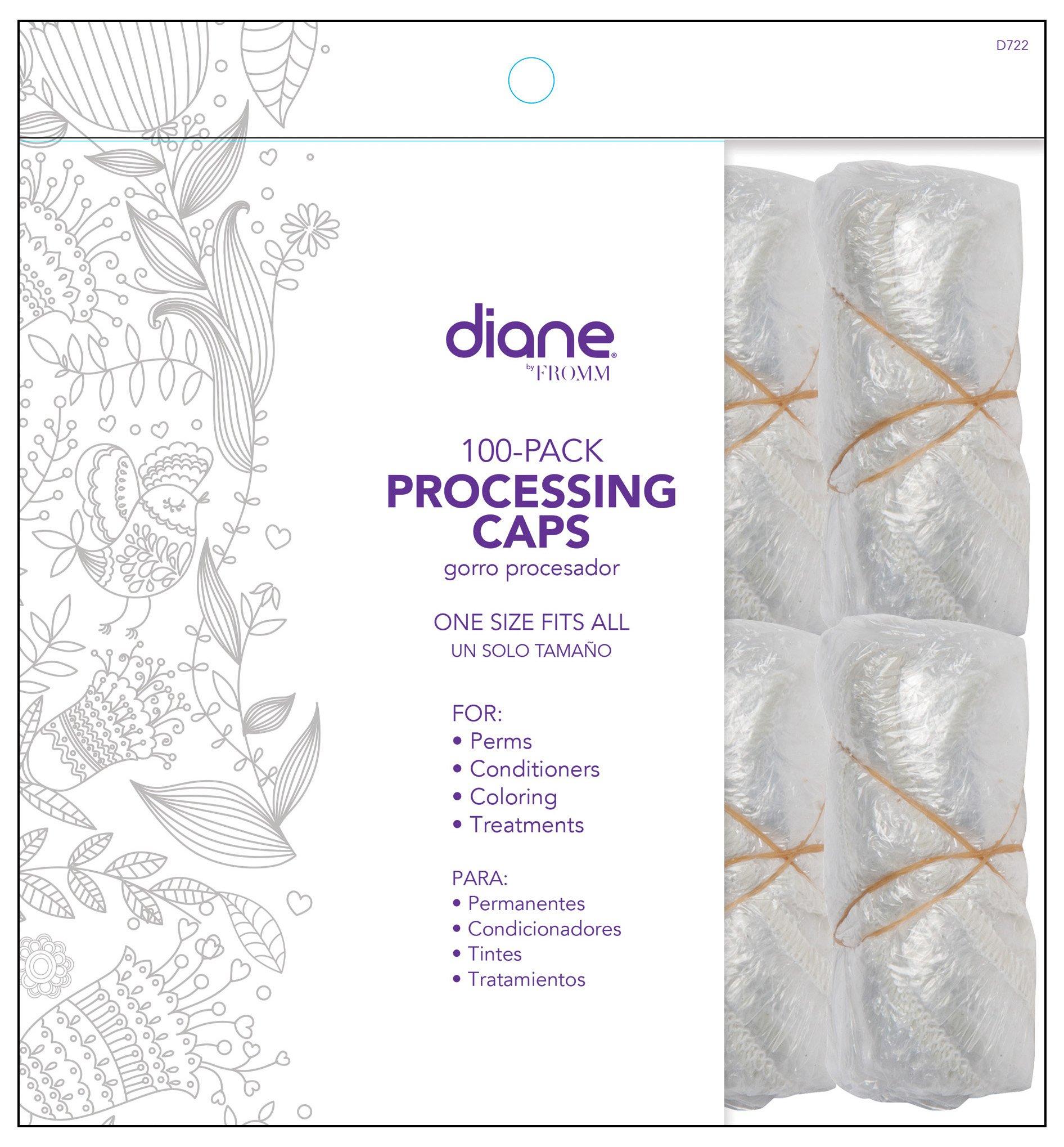 Diane Hair Processing Caps Pack
