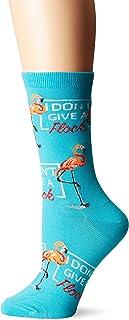 K. Bell Socks womens Play on Words Novelty Casual Crew Socks Casual Sock