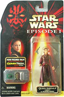 Japan Import Star Wars Episode 1 Comtech Basic Figure Queen Amidala