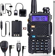 TIDRADIO TD-UV5R Radio 5W Ham Radio Upgraded Version of Baofeng UV-5R Radio Rechargeable Two Way Radio Dual Band UHF VHF R...