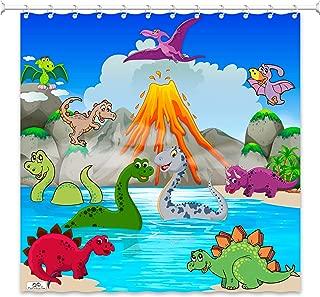 Best dinosaur shower curtain Reviews