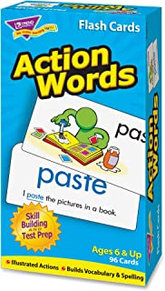 TREND enterprises, Inc. Action Words Skill Drill Flash Cards