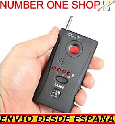 -Thenumberoneshop-Detector de camaras Ocultas Anti espia Sistemas inalambricos WiFi RF microfonos