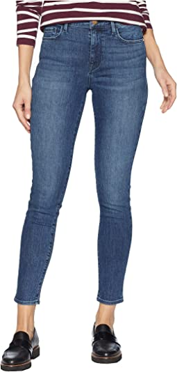 Social Standard Ankle Skinny Jeans in District Blue