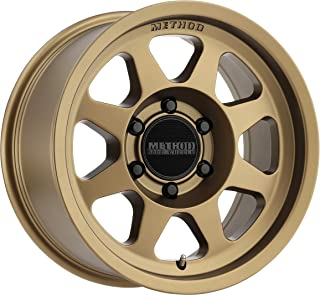 Method Race Wheels MR701 Method Bronze Wheel with Painted (16 x 8. inches /6 x 120 mm, 0 mm Offset)