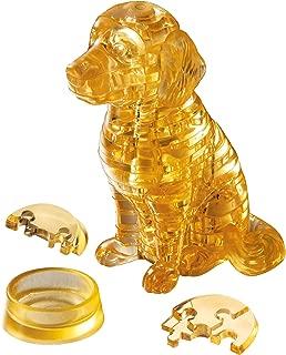 Crystal puzzle 40 pieces Golden Retriever
