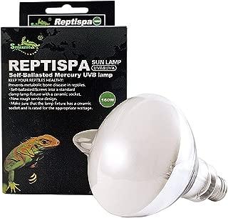 - 2pcs Pack - Reptispa UV Sun Lamp 160 Watts - UVB & UVA Self-Ballasted Lamp