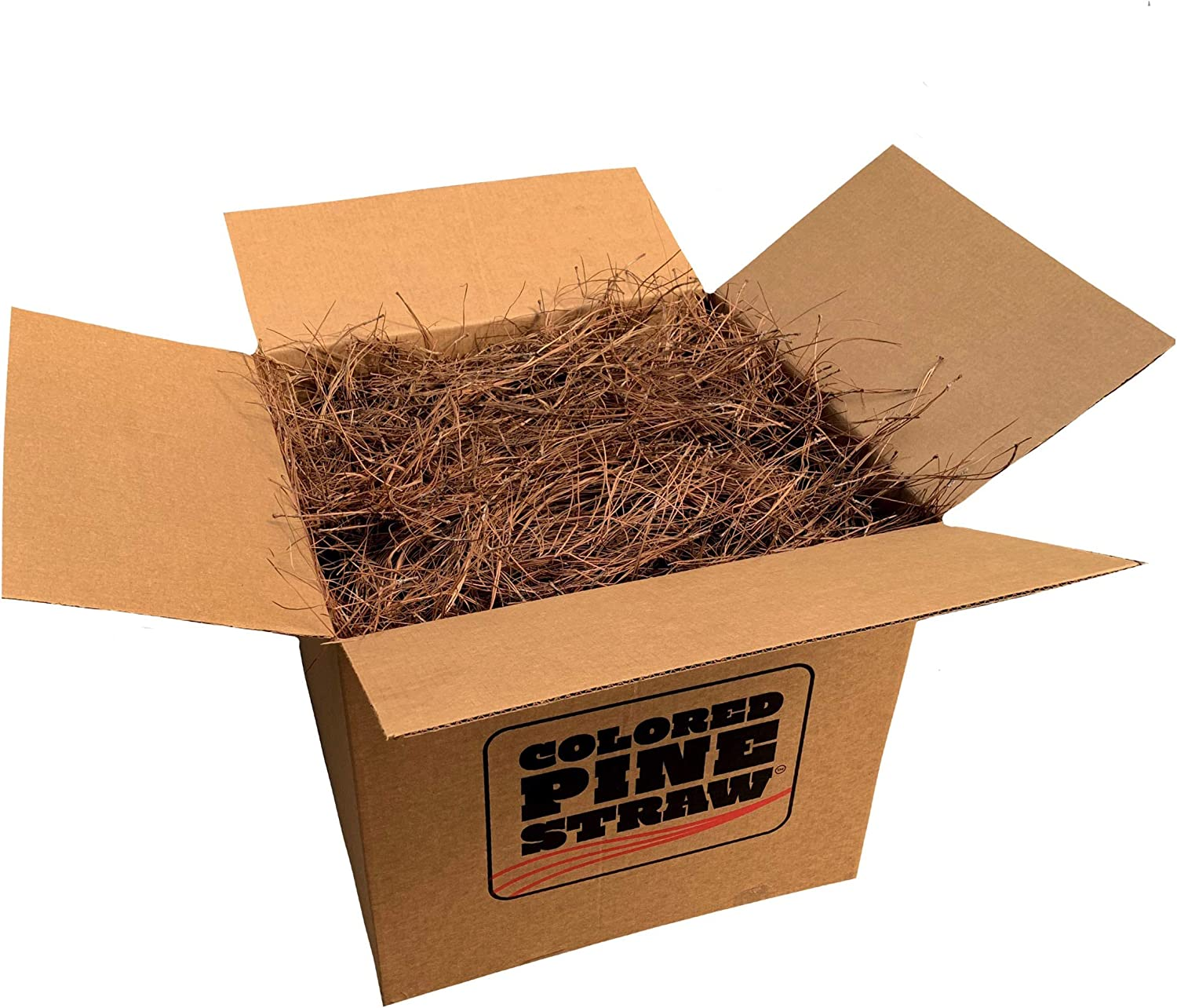 Longleaf 直営ストア Pine Straw Loose in - Landscaping 訳あり Non-Colored Box for