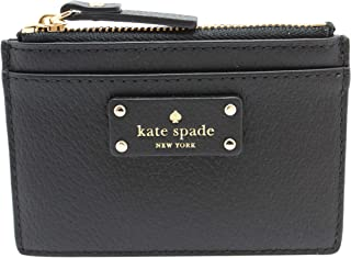 Kate Spade New York Adi Grove Street Pebbled Leather Card Wallet Coin Purse