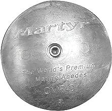 Martyr CMP-06, Rudder / Trim Tab Disc Anodes, Stainless Steel Allen Head
