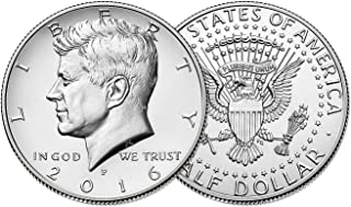 2016 P & D Kennedy Half Dollar Clad Uncirculated