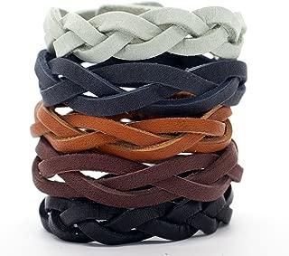 Silver Creek Silver Creek Leather Kit, Mystery Braid Bracelets (CS413608)