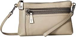 Lena Zip Crossbody Wristlet