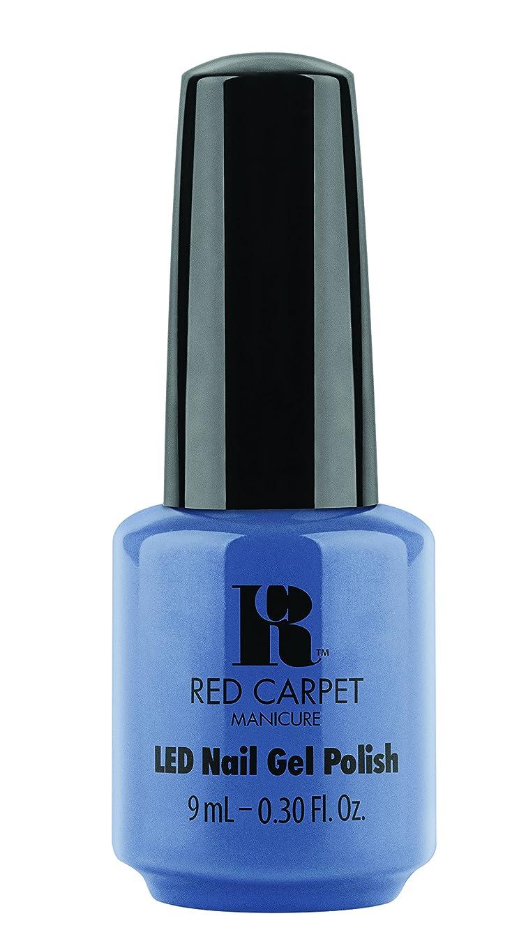 困惑する近代化する電気Red Carpet Manicure - LED Nail Gel Polish - Love Those Baby Blues - 0.3oz/9ml