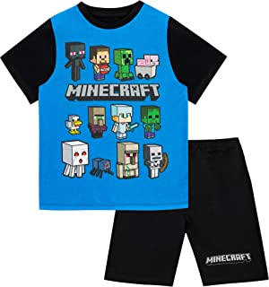 5d148c178e3f4 Minecraft - Ensemble De Pyjamas -Steve and Creeper - Garçon