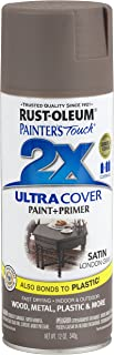 Rust-Oleum 249857-6 PK Painter's Touch 2X Ultra Cover, 12 oz, London Gray