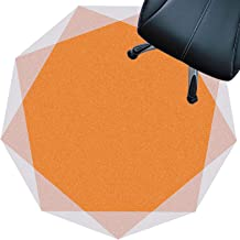 Chair mat Carpet for Hard Floors, Non Slip Floor Protection Mat, Wear-Resistant Surface, Silent and Scratch-Sesistant, 7mm...