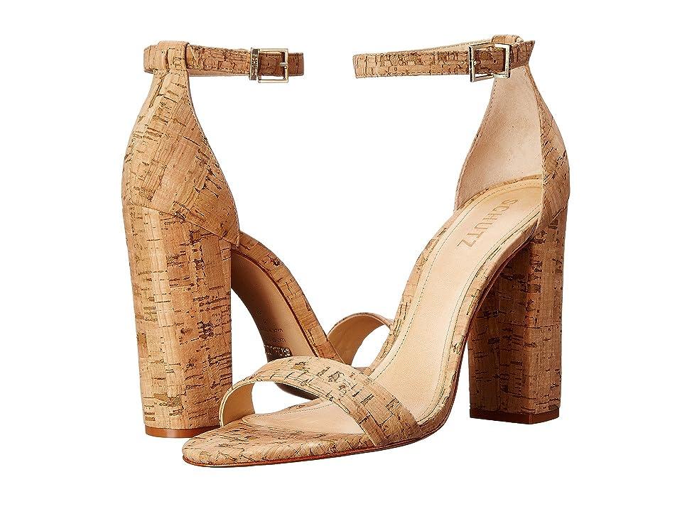 Schutz Enida (Natural) High Heels