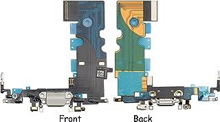Vimour iPhone 8ドックコネクタ/ イヤホン+ライトニングコネクタケーブル 修理部品 (ホワイト)