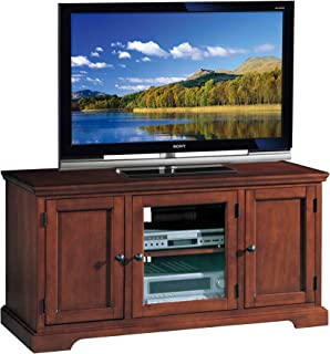 Leick Riley Holliday Westwood TV Stand, 50-Inch, Brown Cherry