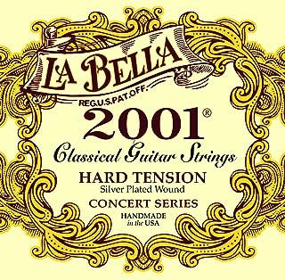 Labella L2001HT Concert serie snaren set voor gitaarspanning Hard