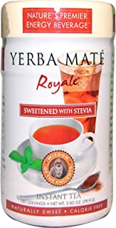 Wisdom Natural, Yerba Mate Royale, Sweetened with Stevia, Instant Tea, 2.82 oz (79.9 g) -- 2PC