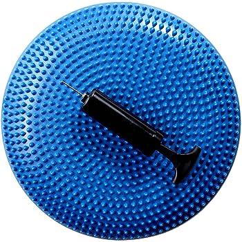 EGS(イージーエス) バランスディスク ポンプ付き EG-3082 ブルー