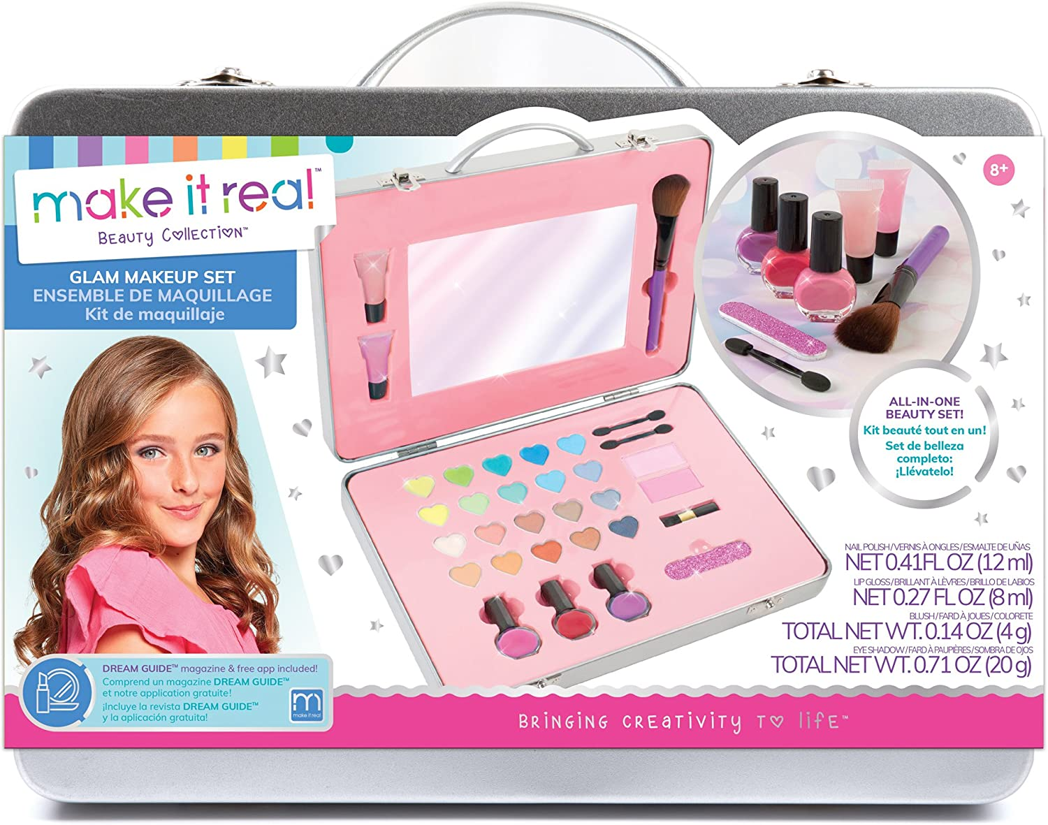 Oklahoma City Mall Make It Real - All-In-One Glam Set. Girls Kit Makeup is Super sale