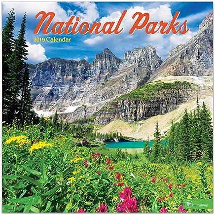 2019 National Parks Wall Calendar