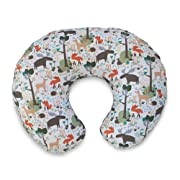 Boppy Original Pillow Cover, Earth Tone Woodland, Cotton Blend Fabric with allover fashion, Fits ALL Boppy Nursing Pillows and Positioners