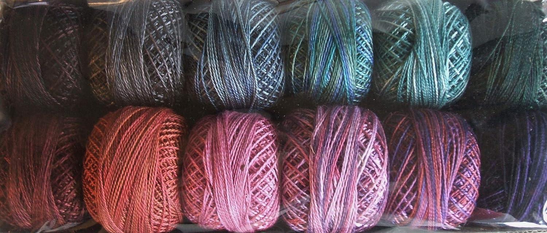 Valdani Perle Cotton Size Easy-to-use 12 Embroidery Twilight Thread S Ranking TOP16 Mystic