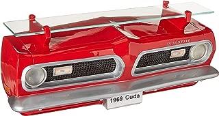 Sunbelt Gifts 1969 Plymouth Barracuda Front Wall Shelf W/Lights, Multi
