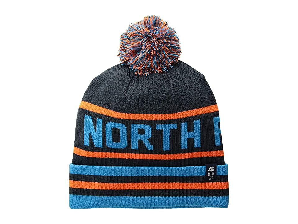 The North Face Ski Tuke V (Urban Navy/Persian Orange Multi) Beanies