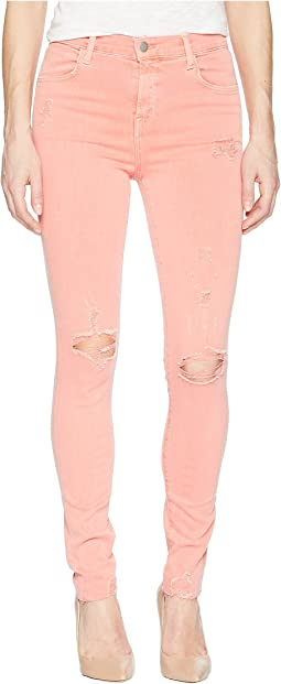 J Brand - Maria High-Rise Skinny in Grapefruit Exposure