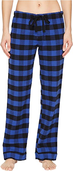 P.J. Salvage Royal Romace Checked PJ Pants
