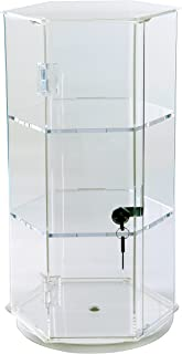 "Display Case 24""H Rotating 