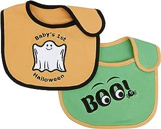 1St Halloween/Boo 2 Pack Bib