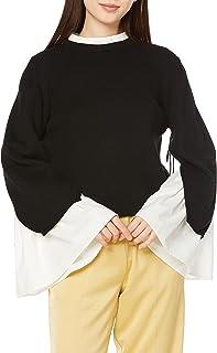 SNIDEL Sustainable 喇叭袖针织套头衫 SWNT214124 女士