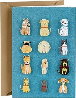 Hallmark Signature Blank Greeting Card (Small Dogs)