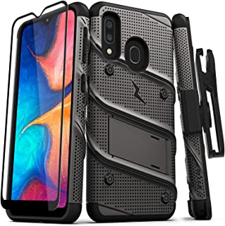 ZIZO Bolt Series Samsung Galaxy A20 Case | Heavy-Duty Military-Grade Drop Protection..