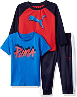 Boys' Three Piece T-Shirt and Pant Set
