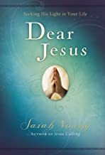 dear jesus book by sarah young