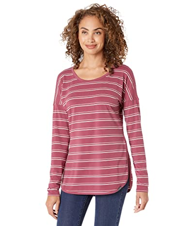 ExOfficio BugsAway(r) Wanderluxtm Cianorte Long Sleeve Shirt (Tea Rose) Women