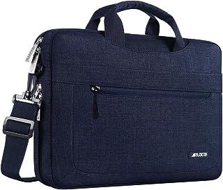MOSISO Laptop Shoulder Bag Compatible with 13-13.3 inch MacBook Pro, MacBook Air, Notebook Computer with Adjustable Depth ...