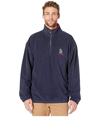 Nautica Re-Issue 1/4 Zip (Navy) Men